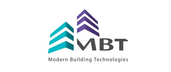 Modern building concept logo.