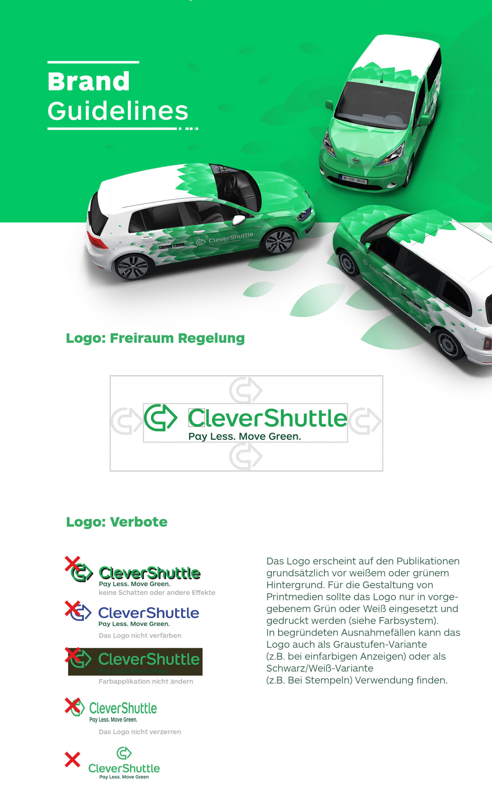 Intro of CleverShuttle guidelines.