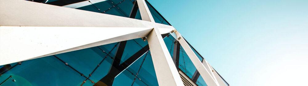 Modern design building.