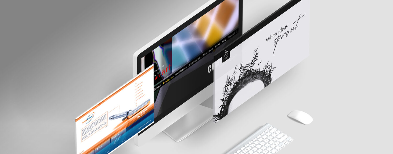 A mockup for a user desktop interface.